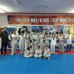 הספורטאי האולימפי רון אטיאס ביקר היום במחנה האימונים של הלוחם הצעיר