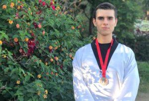 מיכאל ברסלבסקי ,מדליית ארד באליפות ישראל עד גיל 21