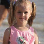 מריה שרייב בת ה-5